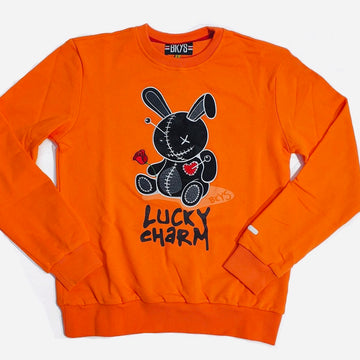 CREWNECK BKYS Lucky Charm ORANGE/BLACK