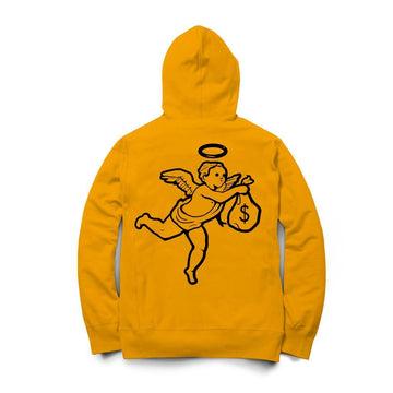 Hoodie Hasta Muerte Angel Money GOLD
