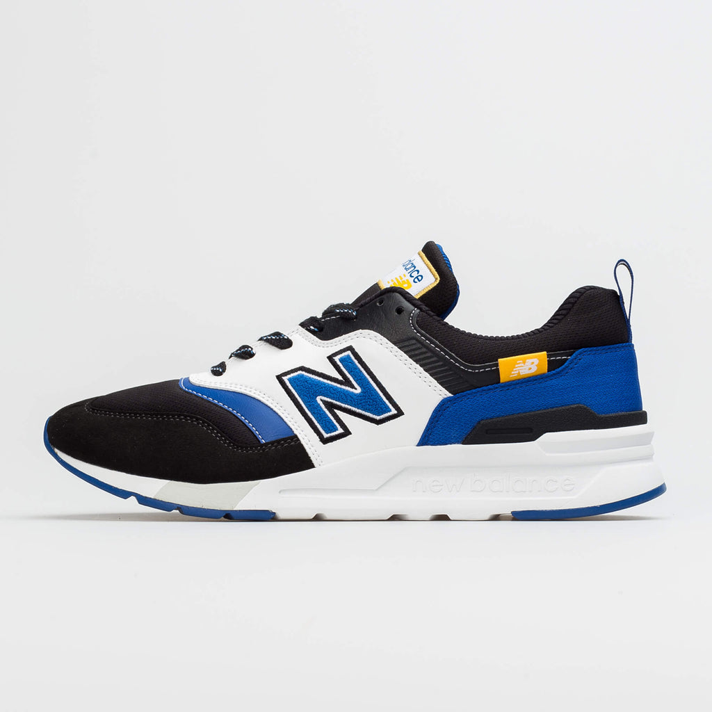 New Balance Men's 997 White/Royal/Black CM997HEV