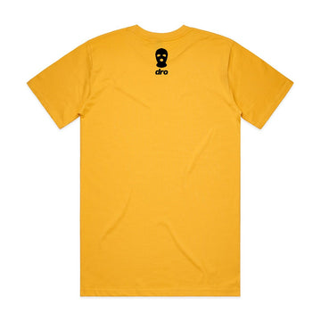 T-shirt DRO X Waka Flocka - BSM Staple Yellow