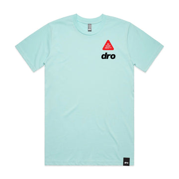 T-shirt DRO 8 BALL TEE Cyan