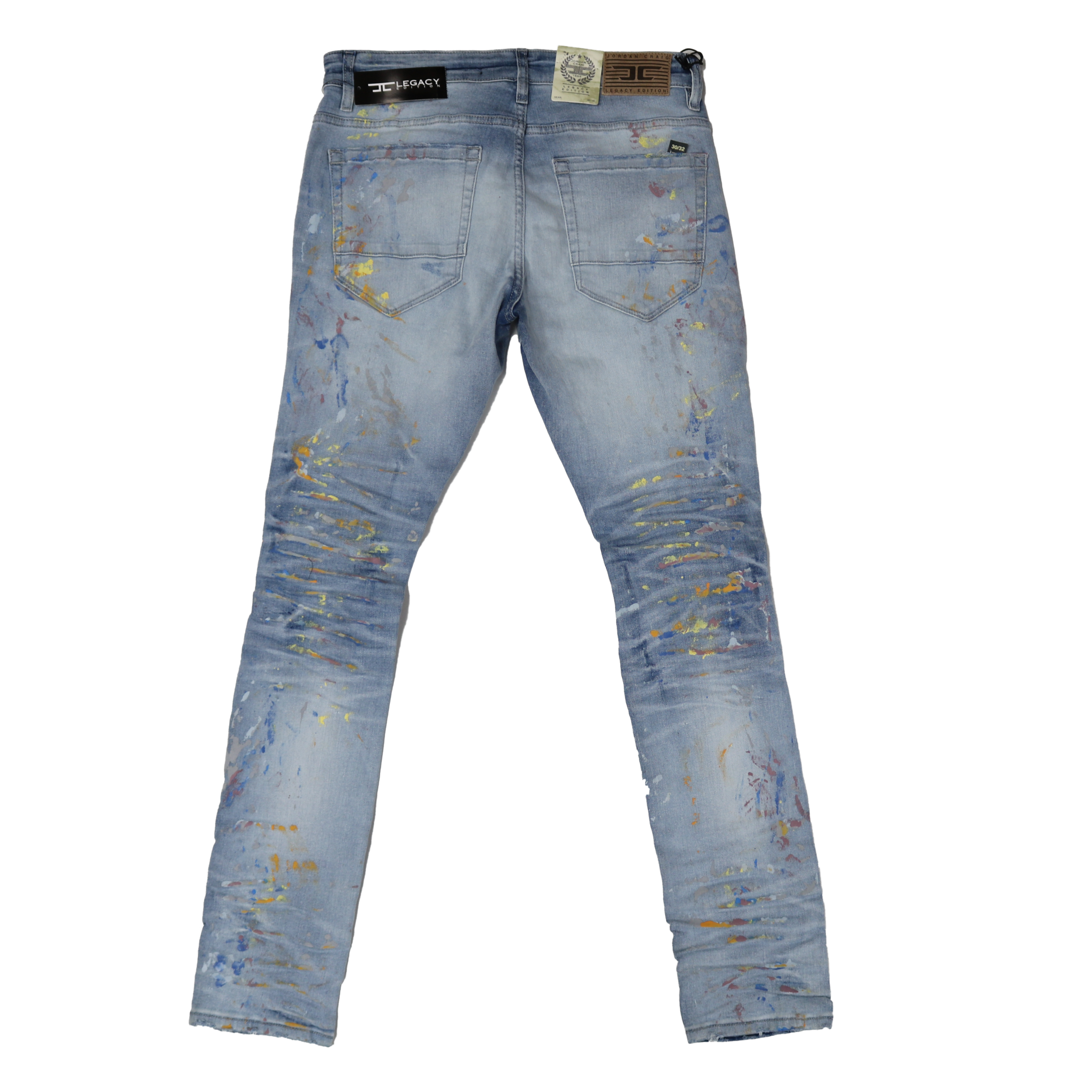 Jordan Craig Men's 'Lightning Blue/Paint' Jean JM3433