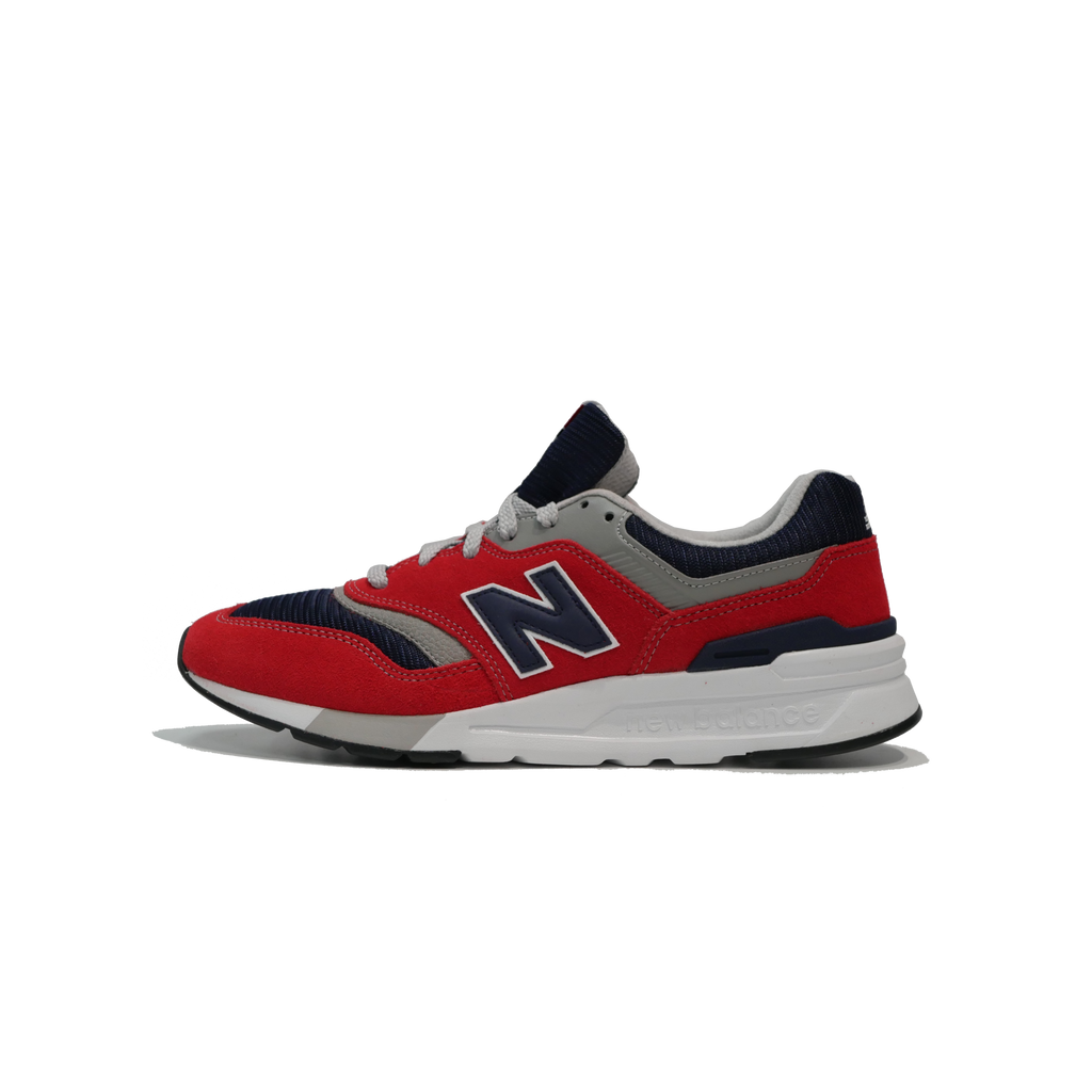 New Balance Men's 997 Red/Navy/Grey CM997HBJ