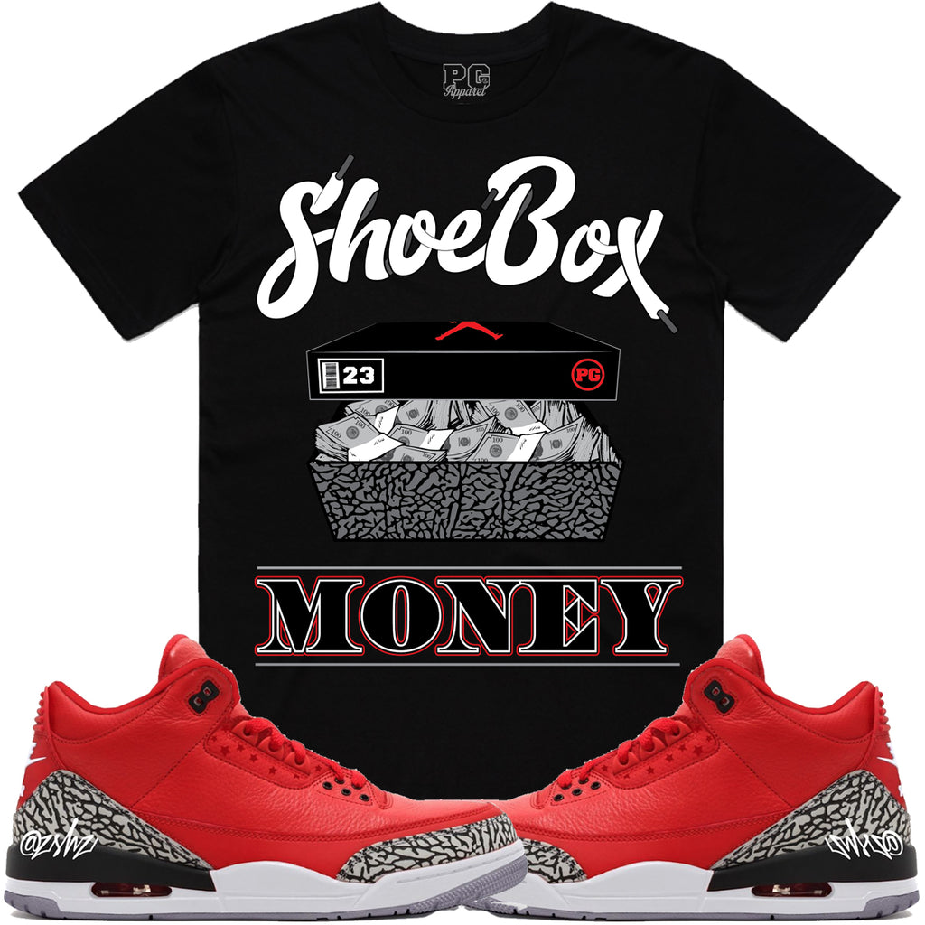 T-shirt Planet of the grapes SHOEBOX MONEY - Black