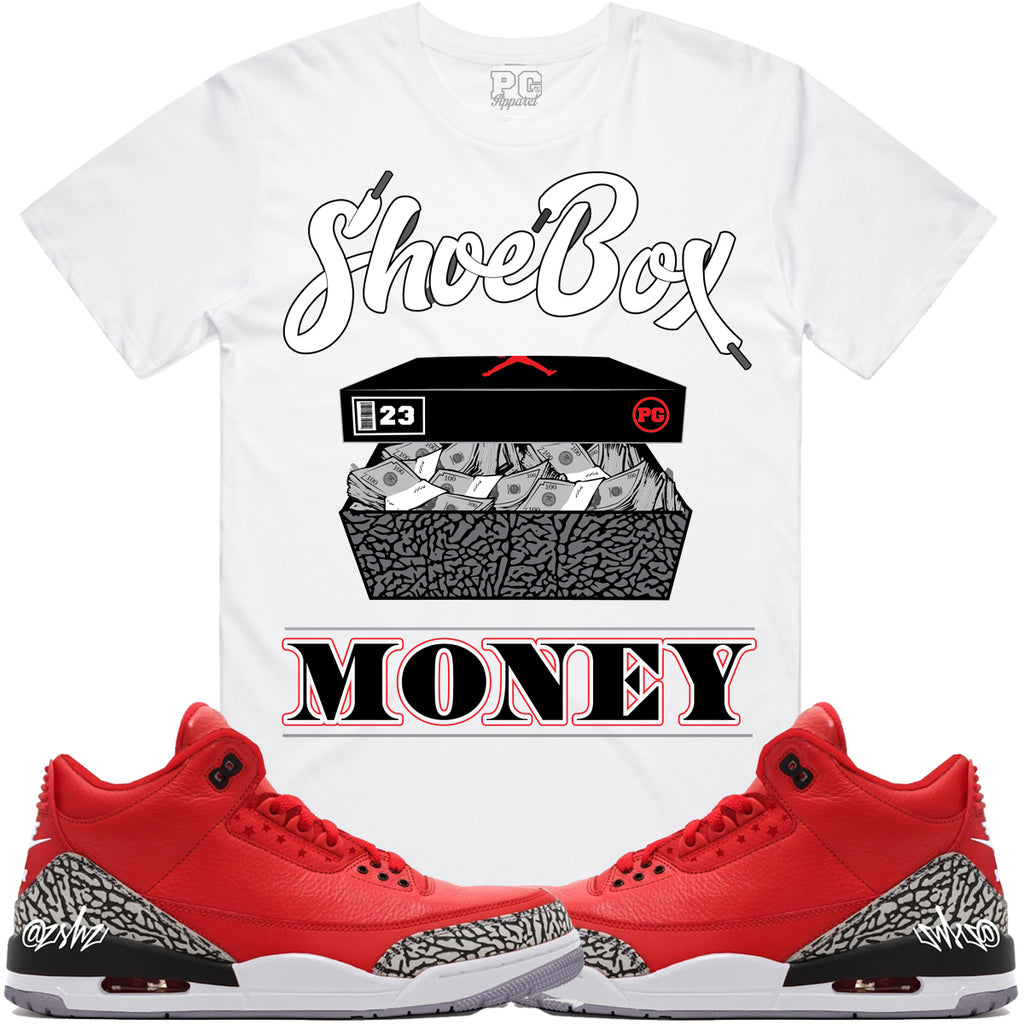 T-shirt Planet of the grapes SHOEBOX MONEY - White