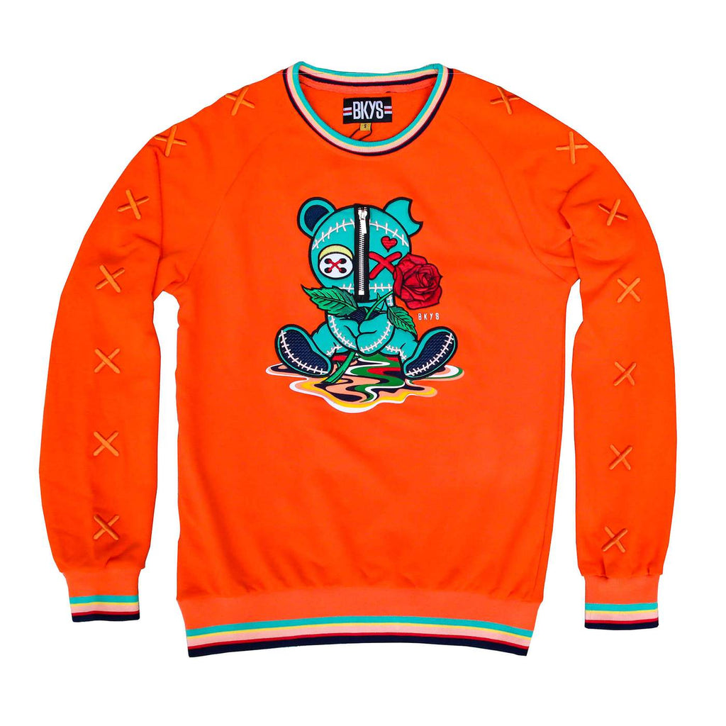CREWNECK BKYS MELANCHOLY ORANGE