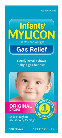 Mylicon Infant Gas Relief Drops Original, 1 OZ