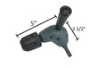 Heavy Duty Right Angle Drill attachment with Keyless Chuck - LINE10 Tools