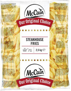 PATATE STEAKHOUSE MCCAIN CONGELATE CONFEZIONI DA 2,5kg