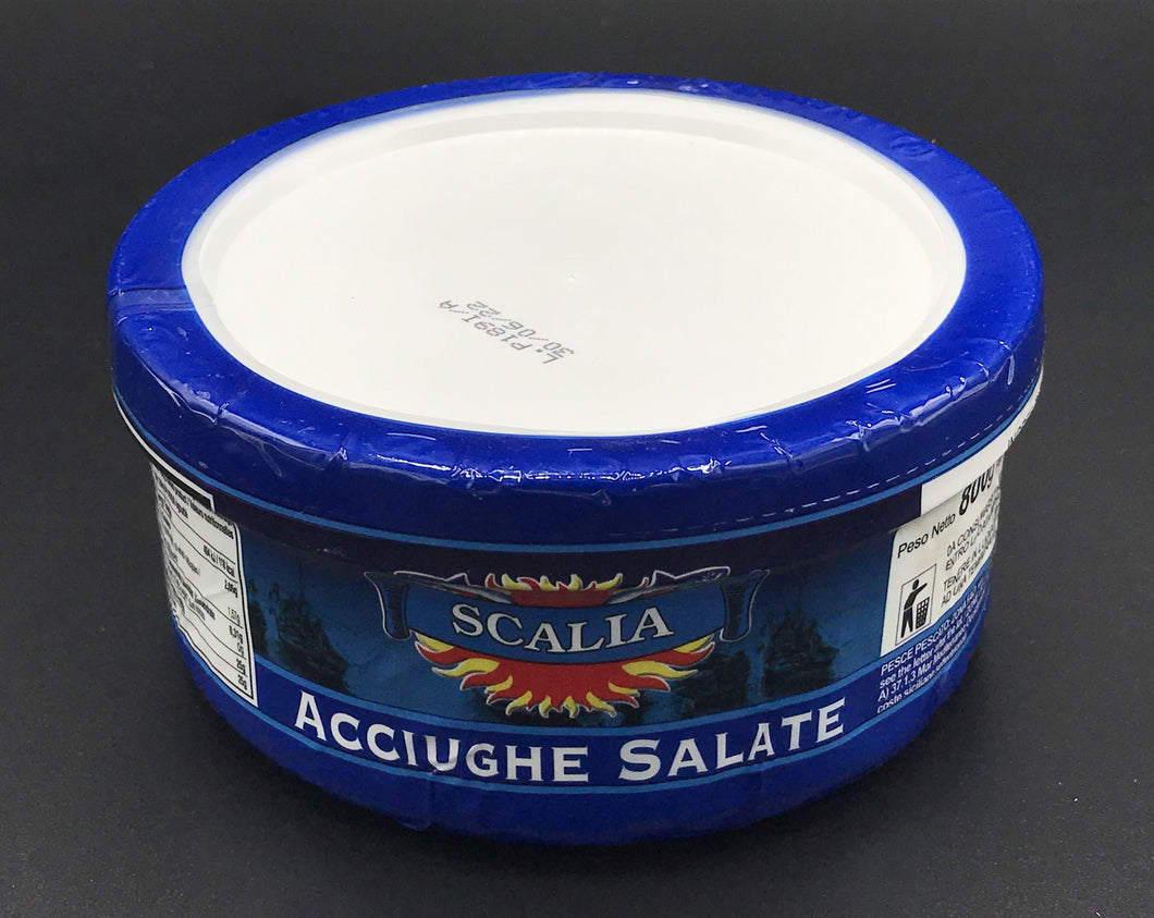 ACCIUGHE SALATE LATTA 850gr.