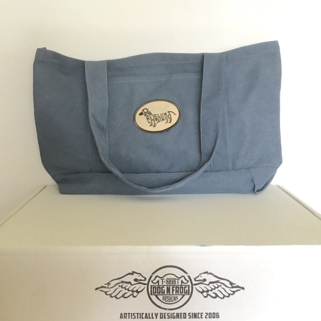 Patch Tote Bag Denim