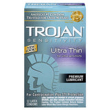Trojan Ultra Thin x 12 Condoms