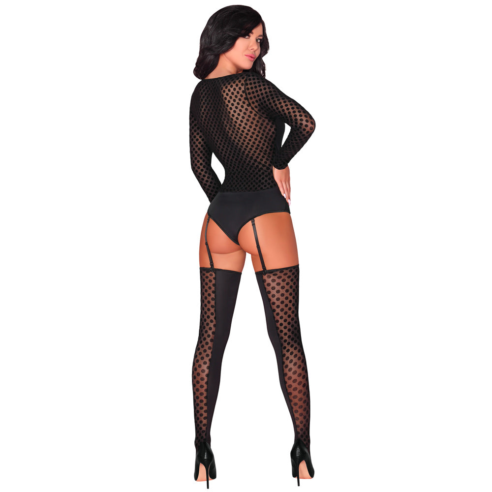 Corsetti Laverna Long Sleeve Body