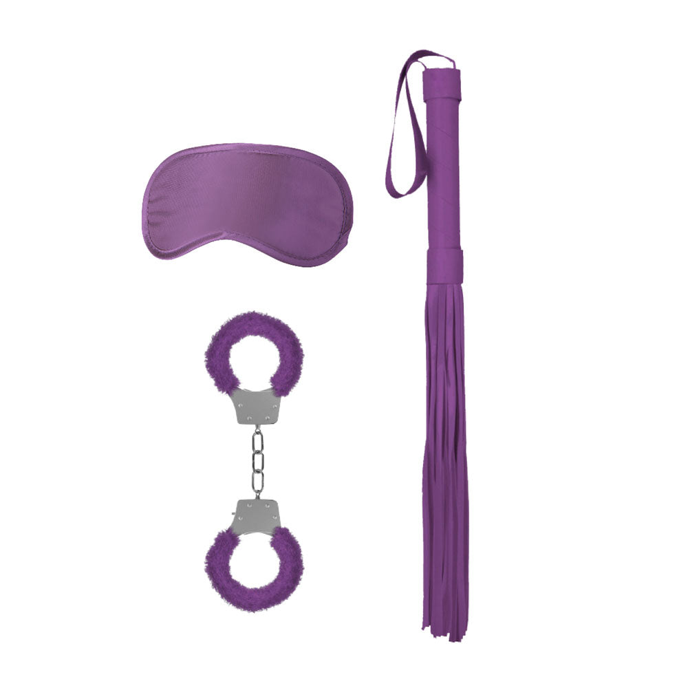 Ouch Introductory Purple Bondage Kit 1