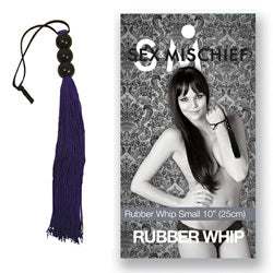 Sex And Mischief Medium Rubber Whip