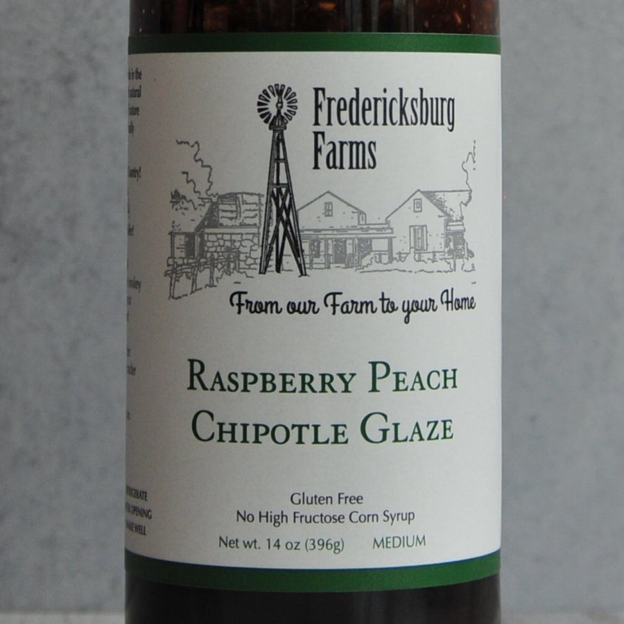 Fredericksburg Farms Raspberry Peach Chipotle Sauce