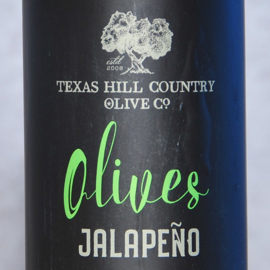 Texas Hill Country Jalapeño Olives
