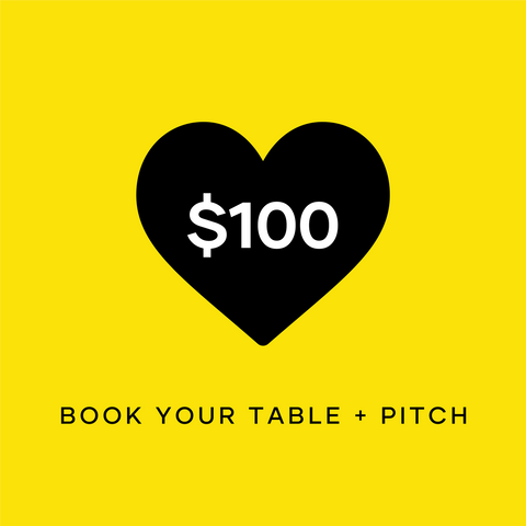 Book Your Table + Pitch