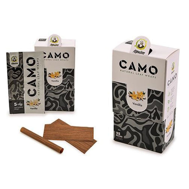 Camo Natural Leaf Wraps On sale