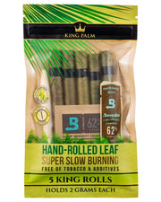 King Palm Resealable 5 Pack King Size Pre-Rolls