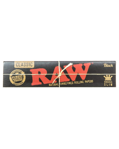 raw black papers