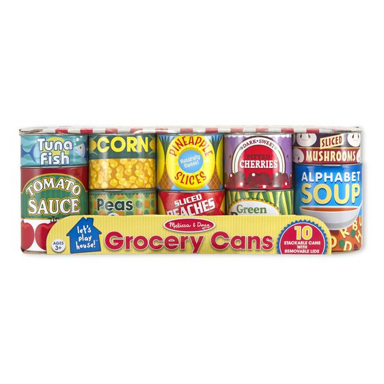 Play Food - Grocery Cans