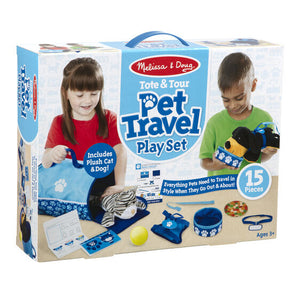 Animal Play Set - Pet Travel