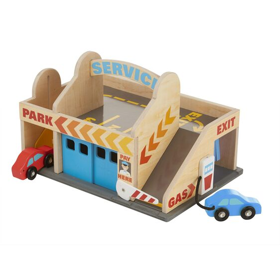 Wooden Vehicles - Service Station