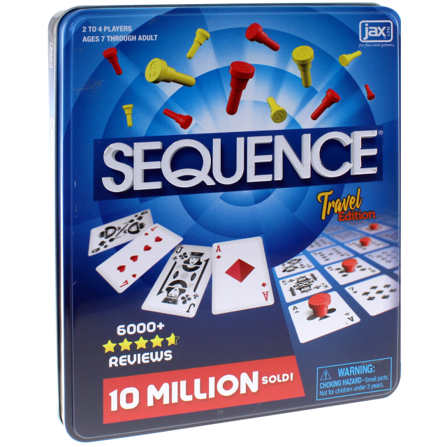 Sequence Travel Tin