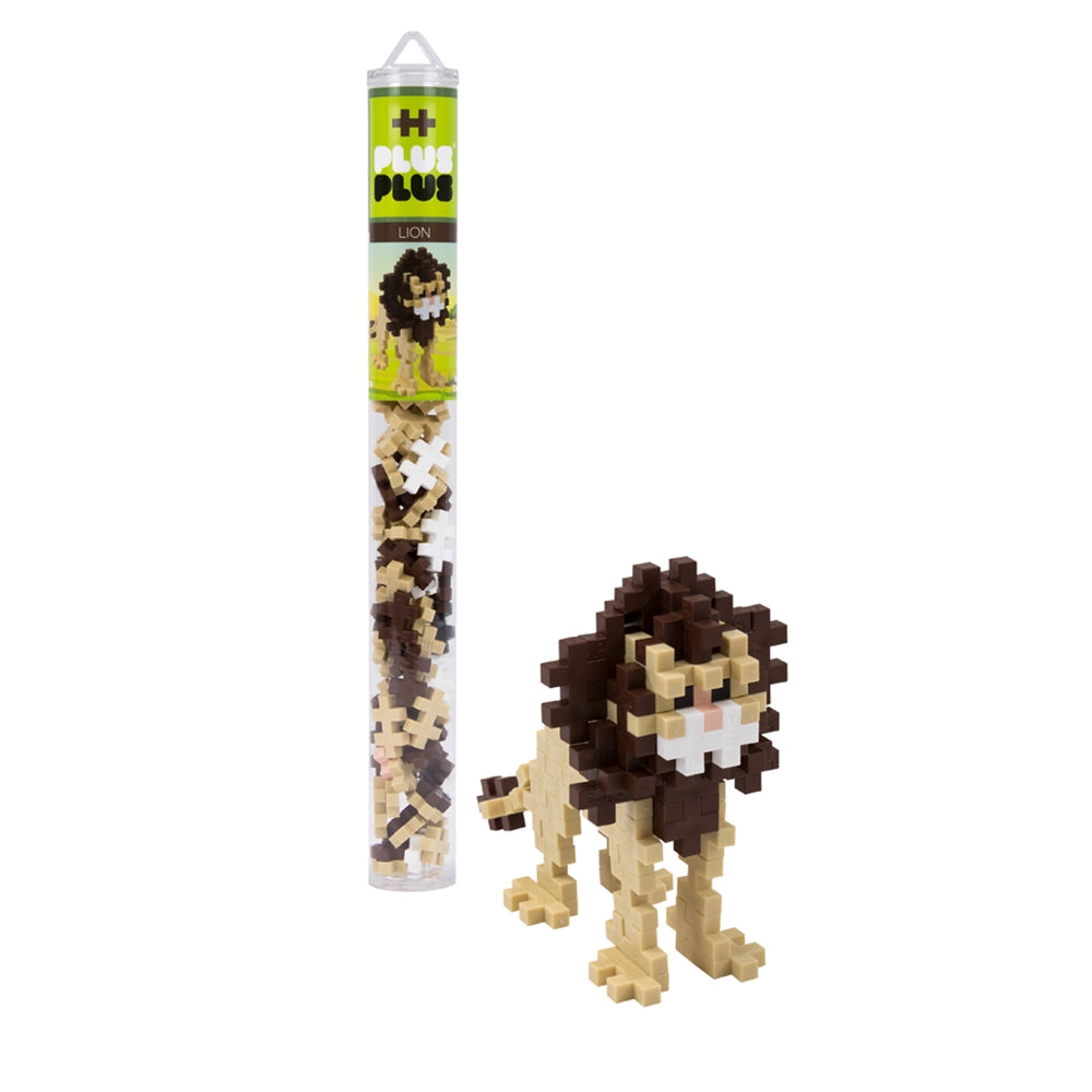 Plus-Plus Tube Lion