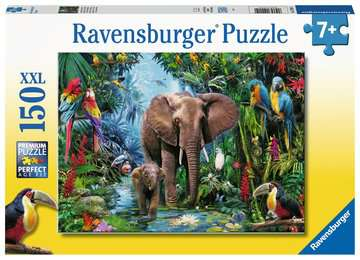 Ravensburger - 150 Elephants at the Oasis