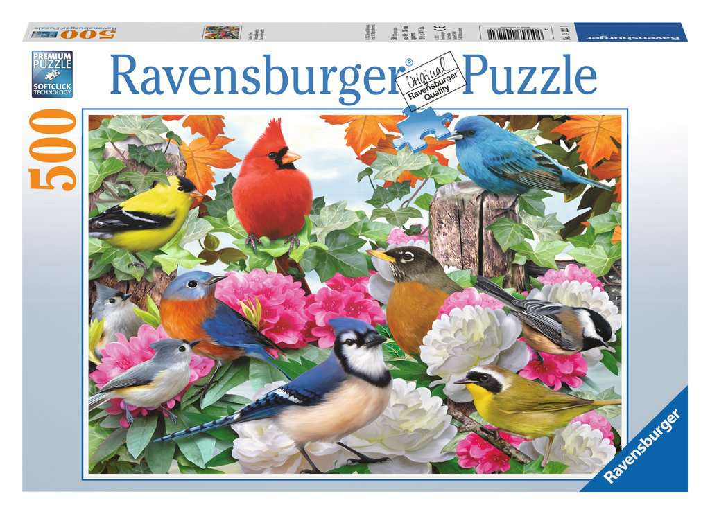 Ravensburger - 500 Garden Birds