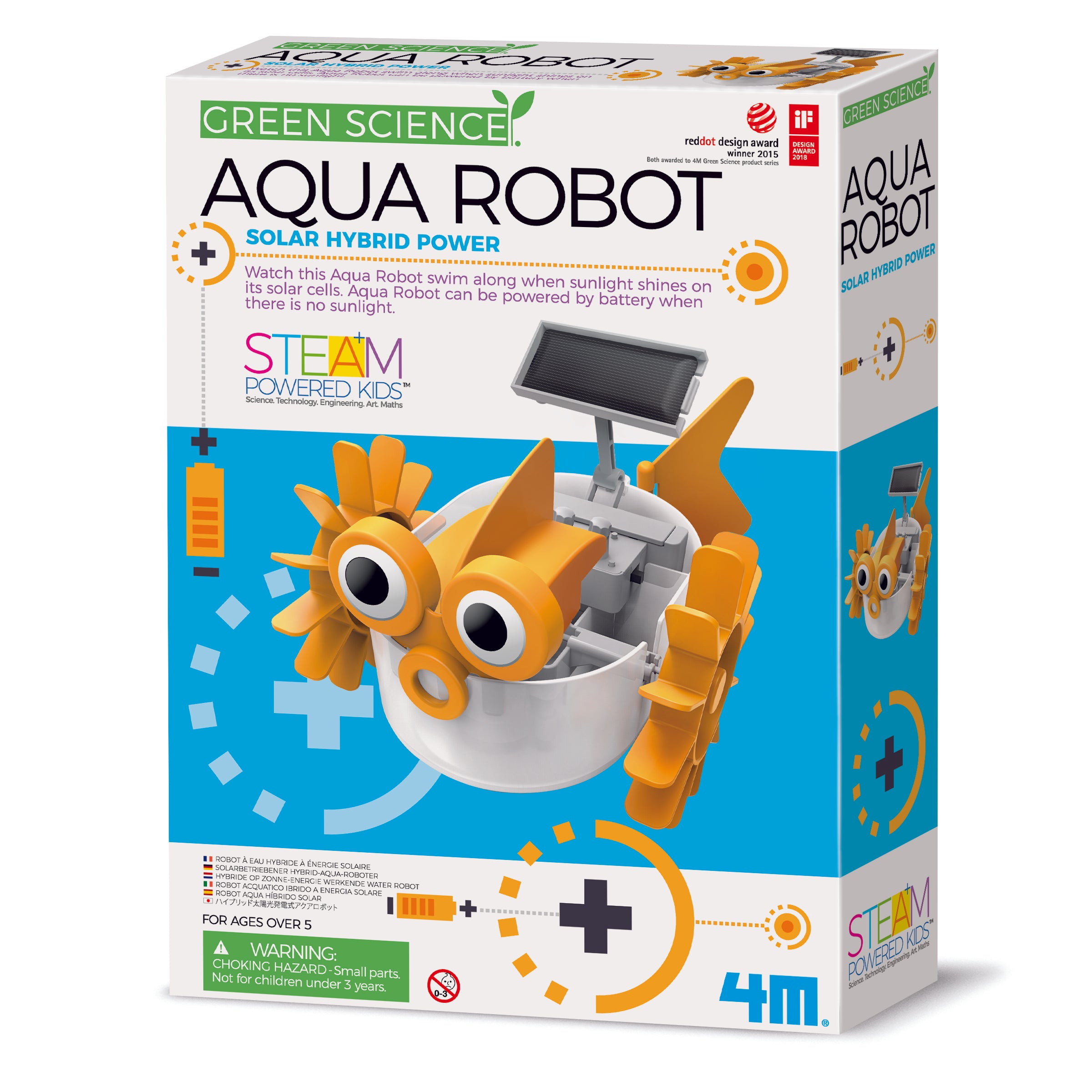 4M Green Science - Aqua Robot