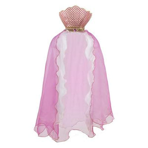 Mermaid - Glimmer Cape Pink