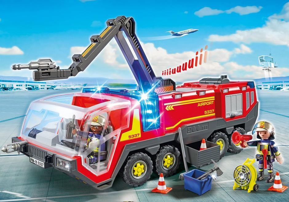 5337 Airport Fire Engine w/Lights