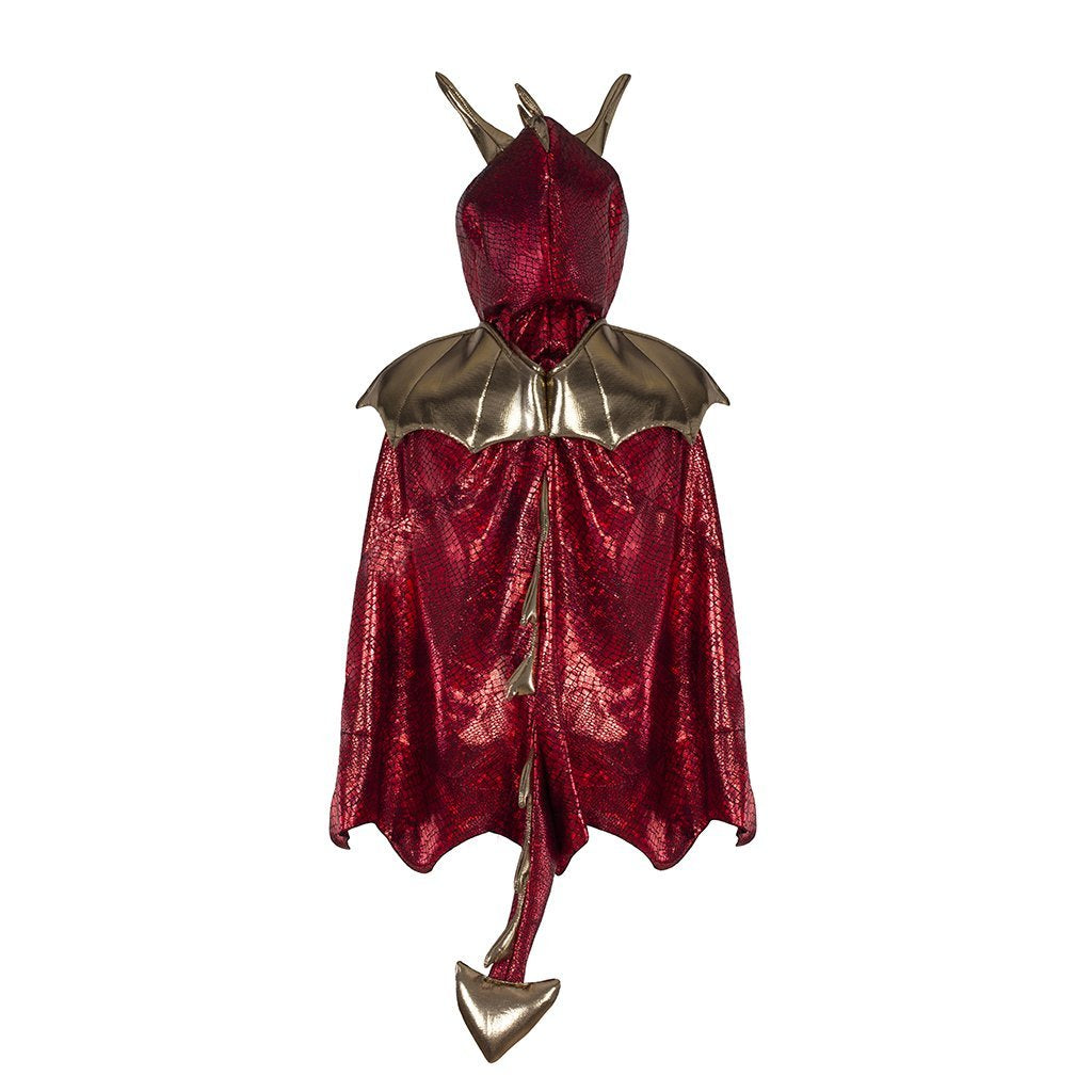 Cape - Dragon Red