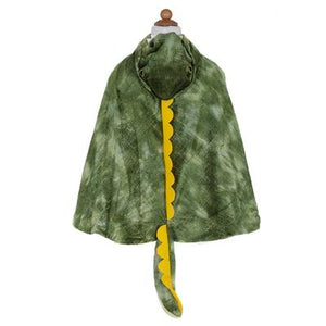 Cape Dinosaur - T-Rex Hooded Green