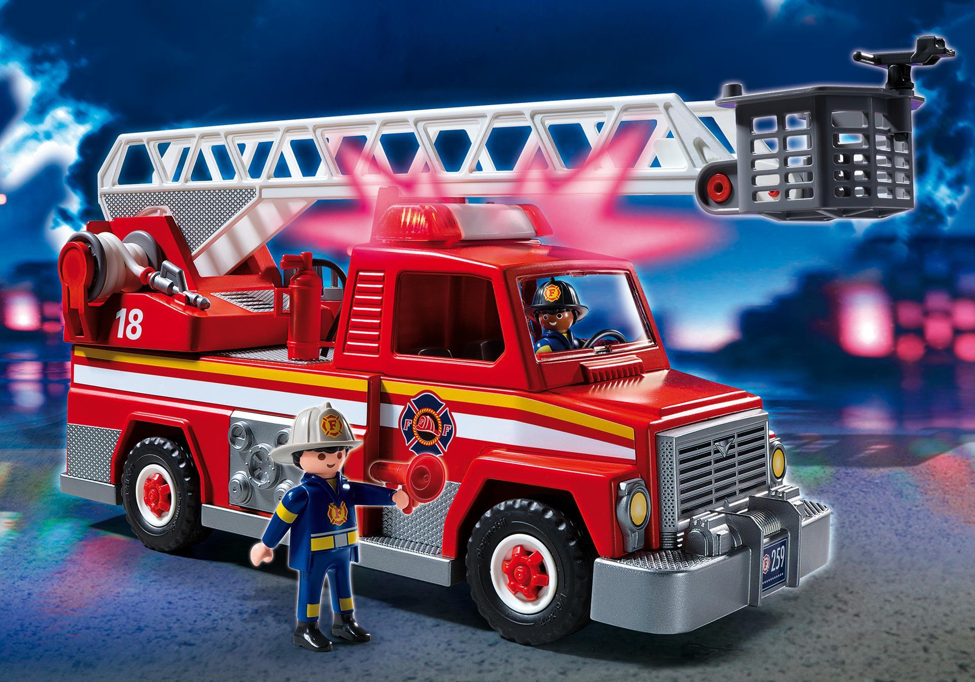 5682M Rescue Ladder Truck