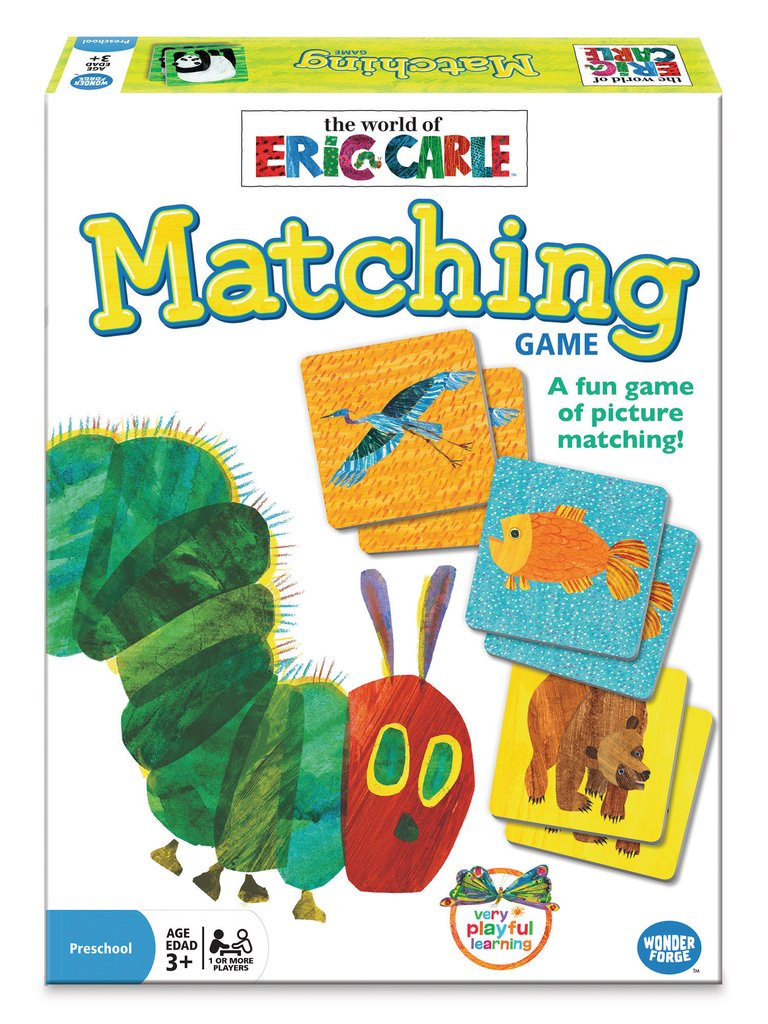 Matching Game - The World of Eric Carle