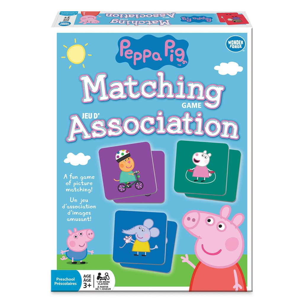 Matching Game - Peppa Pig