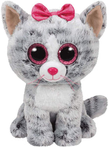 Beanie Boos - Kiki Grey Cat
