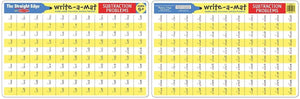 Learning Mat - Subtraction