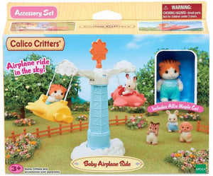Calico Nursery - Baby Airplane Ride