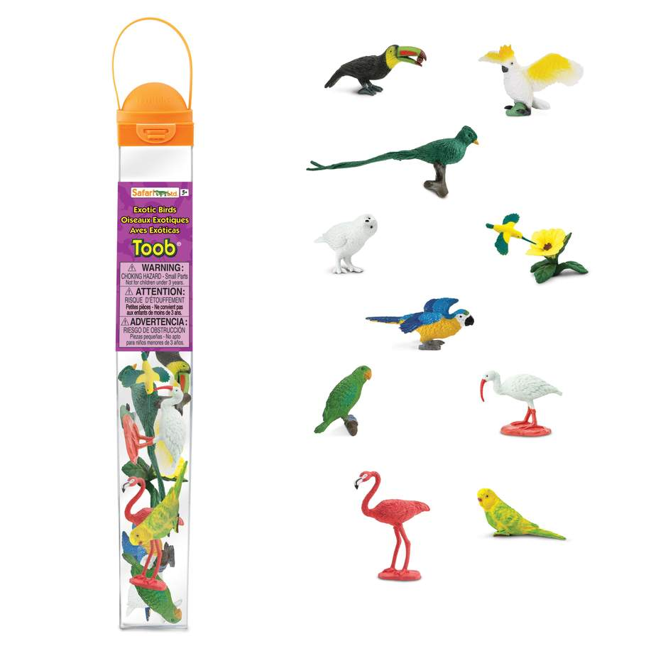 Safari Toob - Exotic Birds