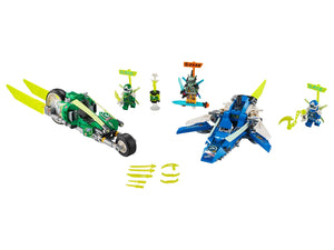 71709 Ninjago - Jay and Lloyd's Racers