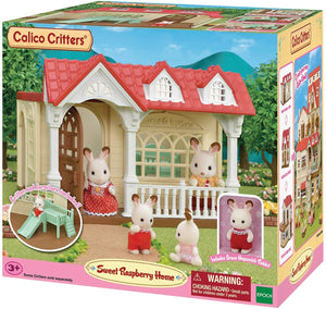 Calico House - Sweet Raspberry Home