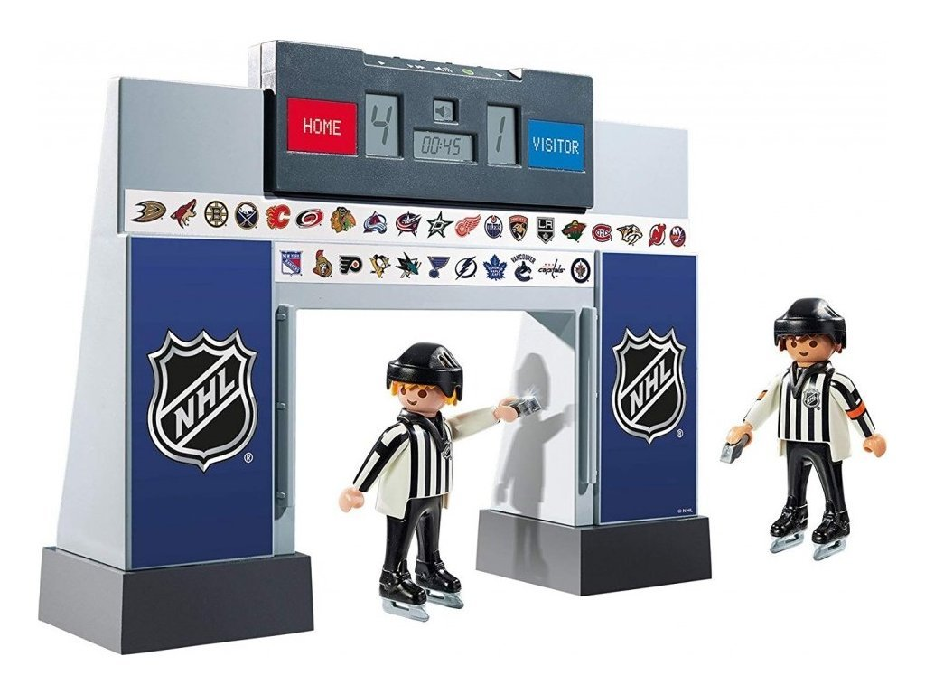 9016M NHL Score Clock with 2 Referees