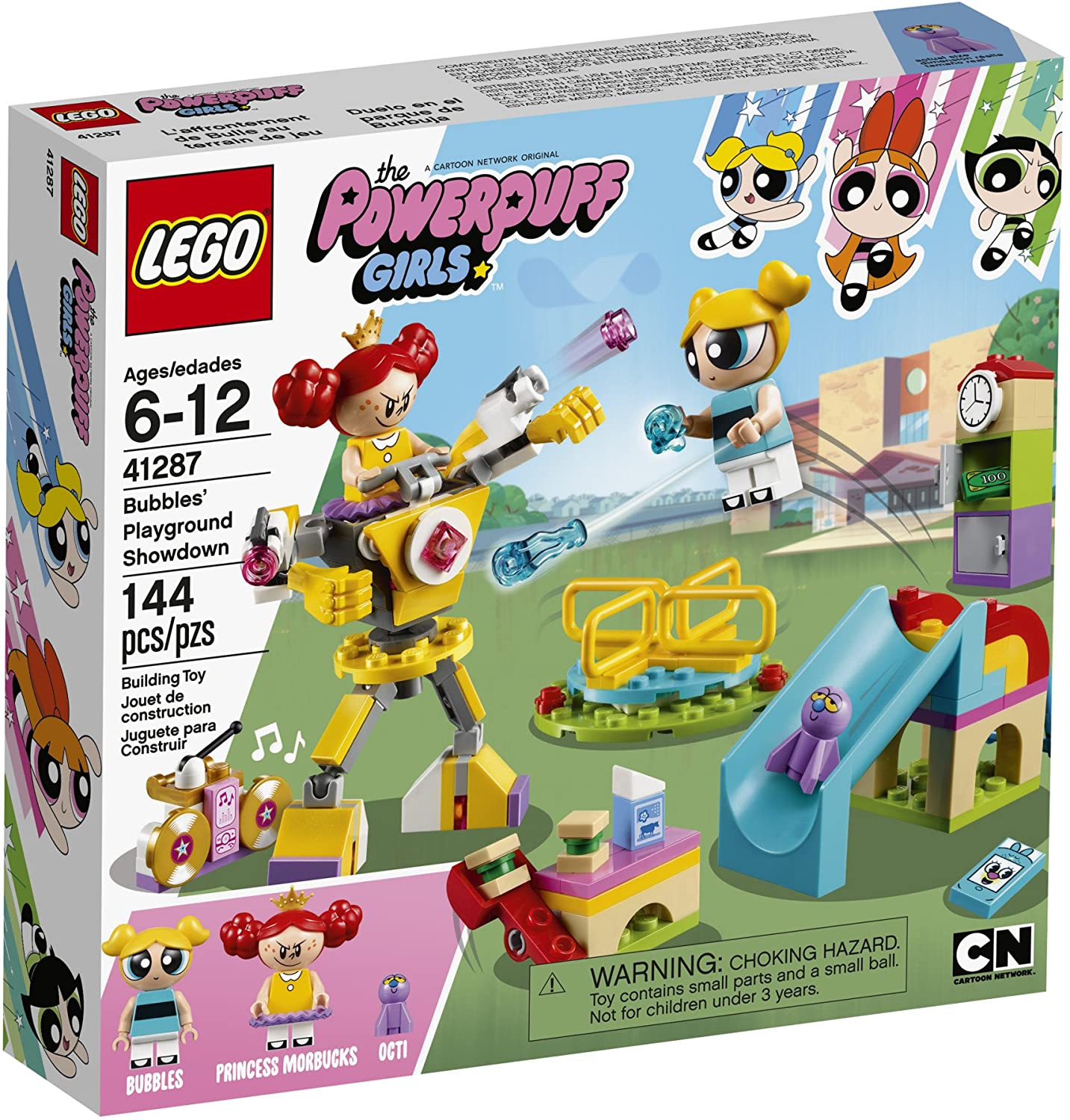 41287 Power Puff - Bubbles' Playground