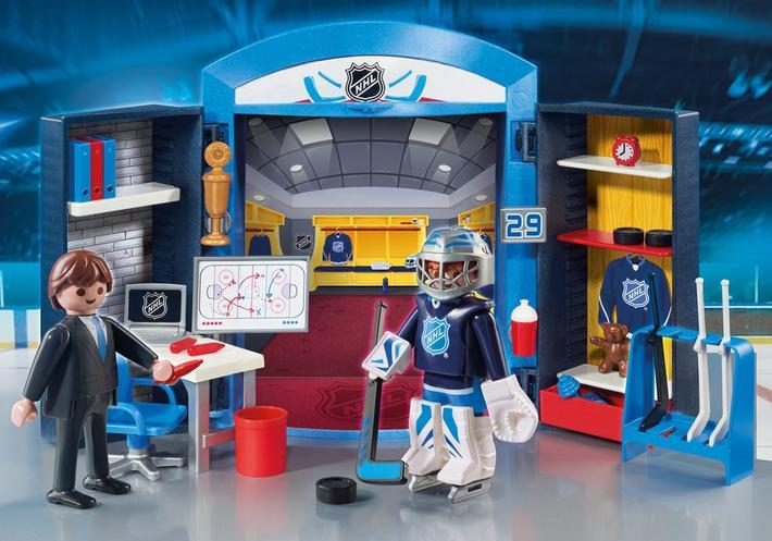 9176M NHL Locker Room Play Box