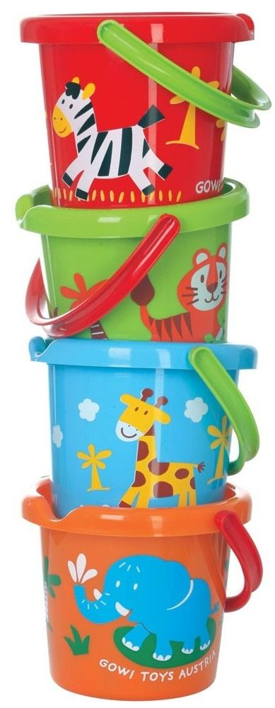 "Gowi - Bucket Large 7"" with Decoration"
